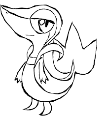 Pokemon Snivy Coloring Pages Jerusalem House