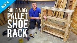 diy pallet shoe rack. Build A DIY Pallet Shoe Rack Diy