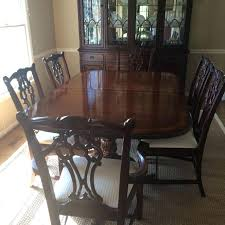 drexel furniture value herie dining room set awesome herie dining table and 6 chairs in dining drexel furniture mid century modern