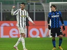 Inter are a good opponent just as milan was and will likely be for months to come. Inter Milan Vs Juventus Cristiano Ronaldo Double Gives Juventus Cup Edge Over Inter Milan Football News