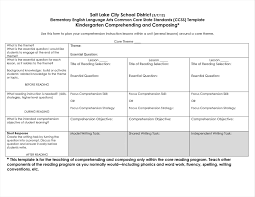 Common Core Lesson Plan Template Modern Lesson Plan Template Math Composition Documentation 24