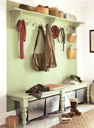 Coat Rack With Baskets Decor Entryway Bench With Storage And Coat Hooks With Storage 81