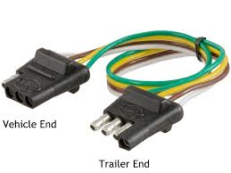 choosing the right connectors for your trailer wiring you will this style connector on small utility trailers and campers that do not require brakes as well as basic towed vehicle wiring kits