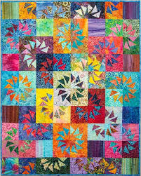85 best Geese Migrations Book images on Pinterest   Over the ... & Ripples, Quiltworx.com, from the Geese Migrations book, designed by  Certified Shop Adamdwight.com