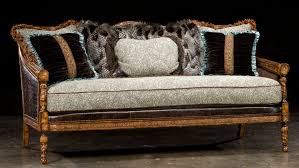 1 Victorian sofa great colors high quality lost look from the past
