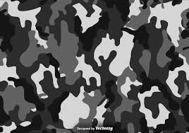 Camouflage Pattern Custom Vector Black And Grey Camouflage Pattern Download Free Vector Art