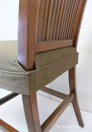 splendid seat cover for dining chair clean simple wrap around design that fits snugly legs with velcro this would be to make by altering chair seat covers diy e24 chair