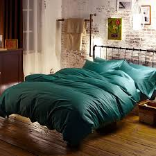 blue green turquoise egyptian cotton bedding sets bed sheets queen duvet cover king size quilt doona