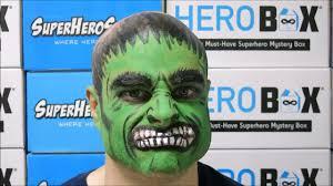 hulk makeup tutorial