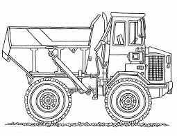 Bulldozer Monster Truck Coloring Pages