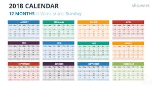 month template 2018 2018 calendar powerpoint templates