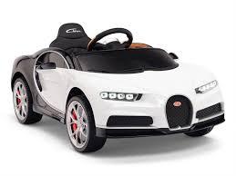 Modelauto bugatti chiron 1 43 blauw speelgoed auto schaalmodel. 12v Bugatti Chiron Two Tone Blue Ride On Car With Parent Remote And Leather Seat