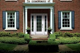 double front door colonial. Colonial Style Front Door With Double Sidelites Colonial U