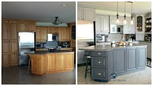 painting old cabinets before and after paint kitchen cabinets before after