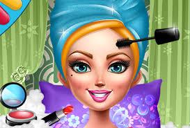 android game simulates a hair nail and makeup salon