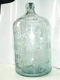 glass water jug vintage 5 gallon bottle co purity with regard to large lid argos glass pitcher