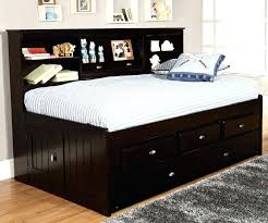 Full Bed Frame With Twin Trundle Decorating Appealing Trundle Bed ...