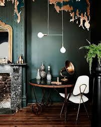 Trend Alert // Dark Green Walls || www.studio7creative.co