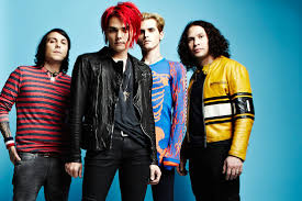 all of my chemical romance spotted together last night alternative press
