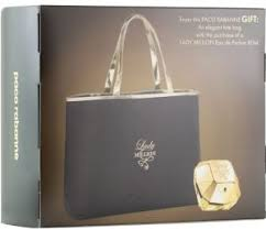 paco rabanne lady million 80ml edt with tote weekend bag gift set for women souq uae