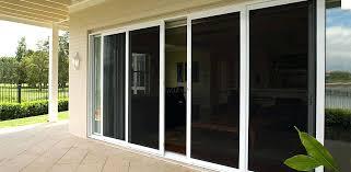 magnetic sliding screen door