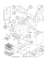 frigidaire plgf389aca gas range timer stove clocks and appliance plgf389aca gas range body parts diagram