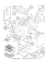 frigidaire plgfaca gas range timer stove clocks and appliance plgf389aca gas range body parts diagram
