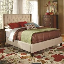 tufted upholstered bed. Bed Shown May Not Represent Size Indicated Tufted Upholstered