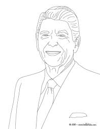 Small Picture President ronald reagan coloring pages Hellokidscom