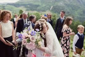 An Alan Hannah Dress For A Romantic And Beautiful Lochside Wedding