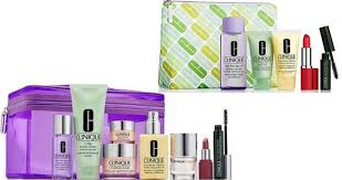 love clinique right now macy s is offering up a free 6 piece gift with a 29 clinique purchase 67 75 value the free gift will automatically be added