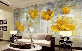 Yellow Flower Photo Wallpapers Murals ...