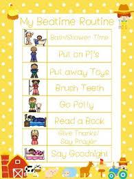 4 Farm Themed Daily Routine Charts Preschool 3rd Grade Routine Activity