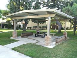 free standing patio covers metal. Stand Alone Patio Cover 3 Inch Insulated Freestanding Metal Covers Covered Designs Free Standing