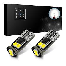 2x T10 W5w 194 168 5630 6 Smd Led Interior Dome Light Bulb