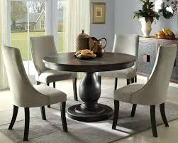 dining set with upholstered chairs solid pedestal round table with upholstered chairs round pedestal dining set