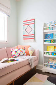 Playroom Living Room A Playful And Bright Playroom Reveal Emily Henderson
