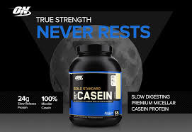 optimum nutrition 100 casein gold standard review