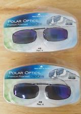 3 Solar Shield Clip On Polarized Sunglasses With 51 Size