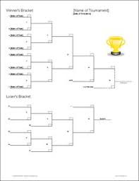 115 Free Printable Tournament Brackets And Betting Grids For Sports