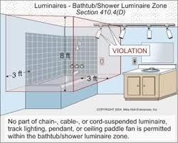 Lighting for shower Bathroom Attached Images Diy Chatroom Recessed Lighting Above Shower Electrical Diy Chatroom Home