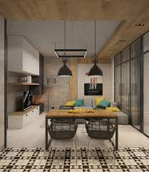 Designs by Style: Stacked Panel Desk - Studio Apartment Design
