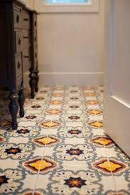 these tiles display the most playful pattern and color combination when they are installed as one package they offer promising visual look that s really