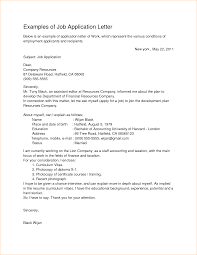 an example of a job application letter business proposal examples of job application letter by yudypur