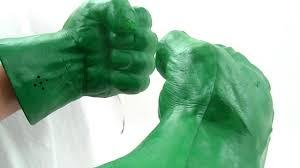 Hulk hands fists foam