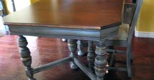 how to refinish a dining room table refinished dining room table refinishing a dining room table