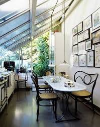 very small sunroom. Exellent Small Acclaimed French Designer And Interior Architect Andre Putman  KitchenSolarium With An Oblong Marble Table Gallery Wall U0026 Very Low Lights Home Decor In Very Small Sunroom
