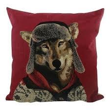 "<b>Подушка</b> ""<b>Nordic</b> Wolf"" бренда Mars & More – купить по цене 2300 ..."
