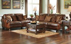 Leather Living Room Sets On Ashley Leather Living Room Furniture Living Room Leather