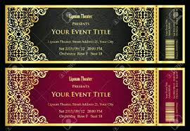 Party Tickets Templates Template Party Tickets Template 2